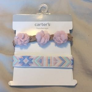 NWT baby girl headbands from Carter's
